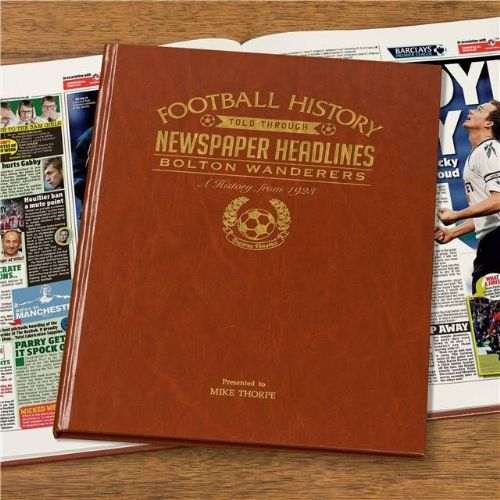 Personalised Bolton Football Book